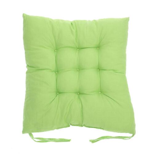 coussin de chaise carré vert