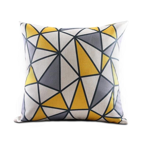 acheter housse de coussin thnique noir et blanche coussin design. Black Bedroom Furniture Sets. Home Design Ideas