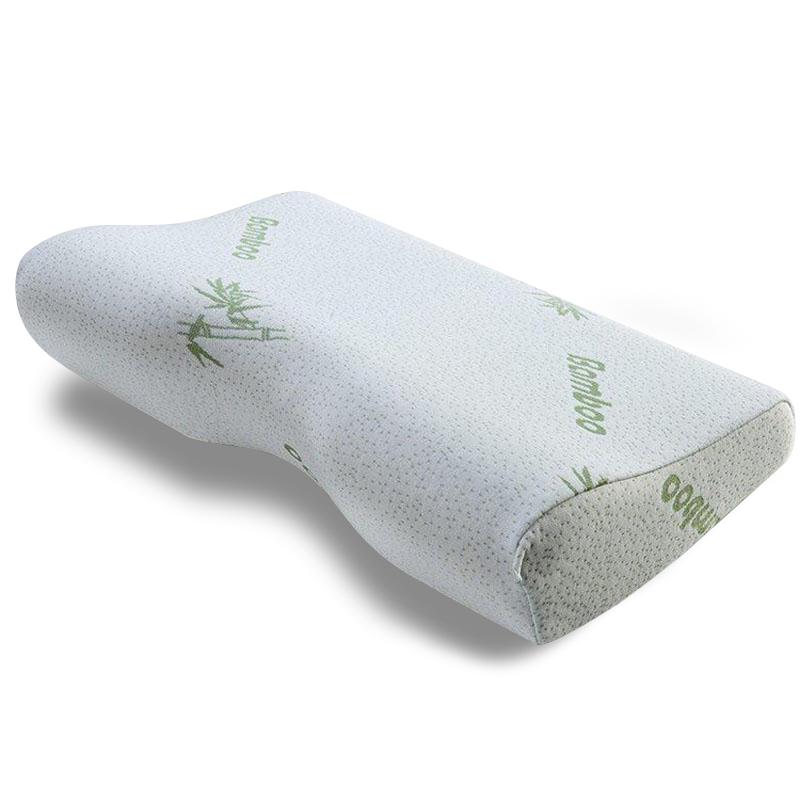 acheter oreiller m moire de forme bambou pas cher cervicales coussin. Black Bedroom Furniture Sets. Home Design Ideas