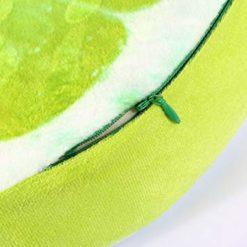 coussin citron vert