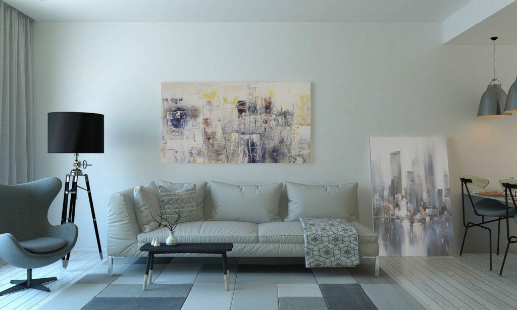 Une Deco Moderne Pour Petit Salon Coussin Design