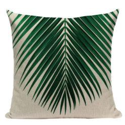 coussin palmier