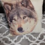 coussin animaux sauvages