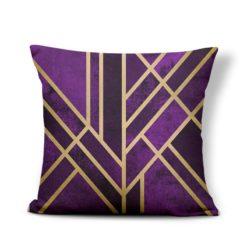 coussin violet