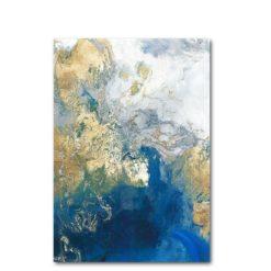 affiche art abstrait