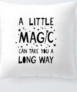 housse de coussin magic